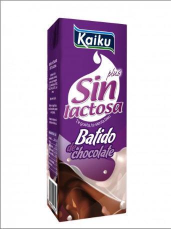 Batido de chocolate sin lactosa de Kaiku