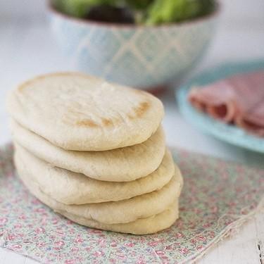 Pan de pita, receta con Thermomix