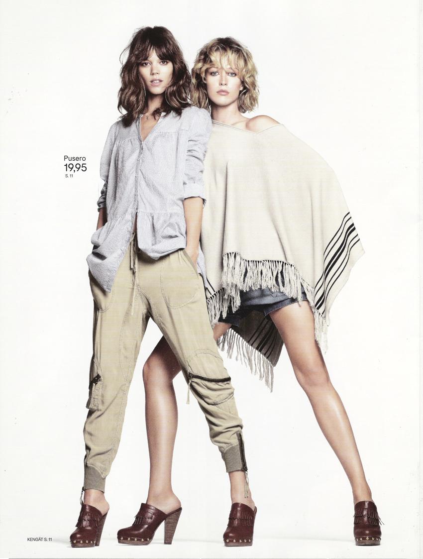 Foto de Campaña H&M Primavera-Verano 2011 con Freja Beha Erichsen y Raquel Zimmermann (15/16)