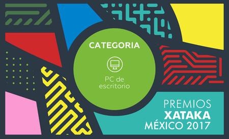Mejor PC de escritorio, vota por tu preferido para los Premios Xataka México 2017