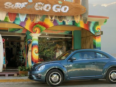 Volkswagen Beetle Coast y Sound: Dos ediciones especiales para el escarabajo más querido de México