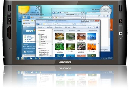 Archos 9 PCTablet, apuesta por el UMPC