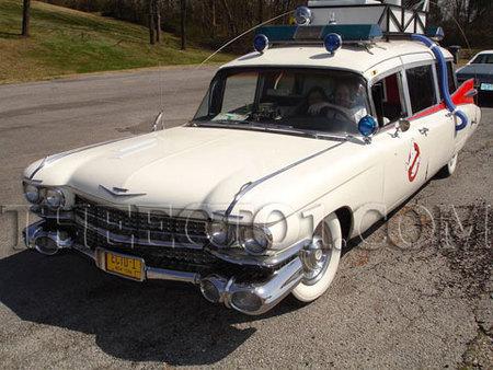 Un ECTO-1 original a la venta en eBay