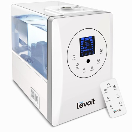 Oferta flash en el humidificador ultrasónico Levoit LV600HH: hasta medianoche costará 63,99 euros en Amazon