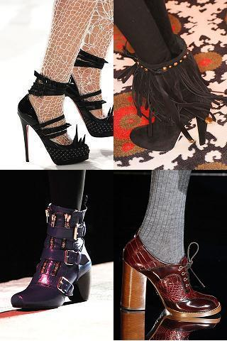 zapatos folk y rock