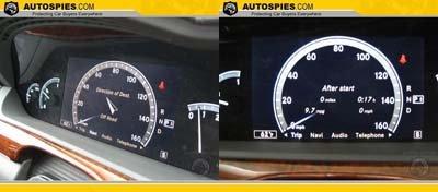 Mercedes cambia el panel de control clásico por una pantalla LCD
