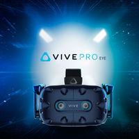 HTC actualiza sus gafas VR con las VIVE Pro Eye, incorporando rastreo de movimiento ocular, y muestra un próximo nuevo modelo