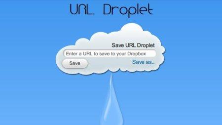 URL Droplet: descarga archivos directamente en tu cuenta de Dropbox