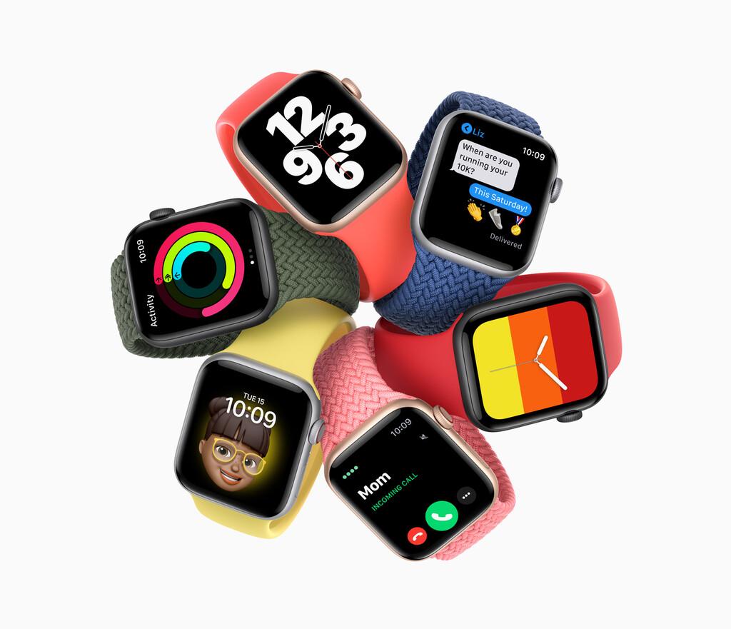 Así quedan las compatibilidades de esferas y correas con las generaciones anteriores al Apple Watch Series 6