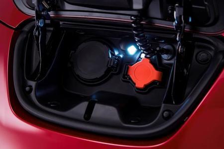 Nissan Leaf 2013 enchufes