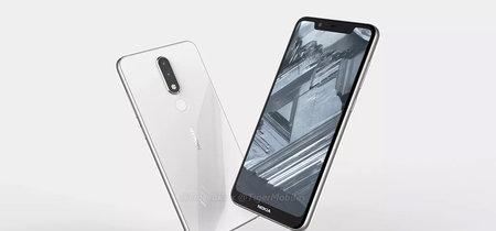 Filtrado el Nokia 5.1 Plus: vuelve a apostar por el notch al estilo Nokia X6