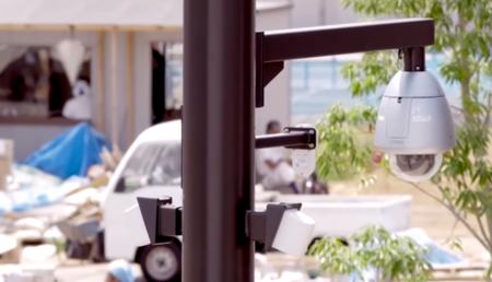 seguridad ciudad de Panasonic