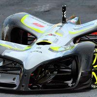 Así es el primer coche eléctrico y autónomo de la Roborace, tan espectacular como en los diseños de Daniel Simon