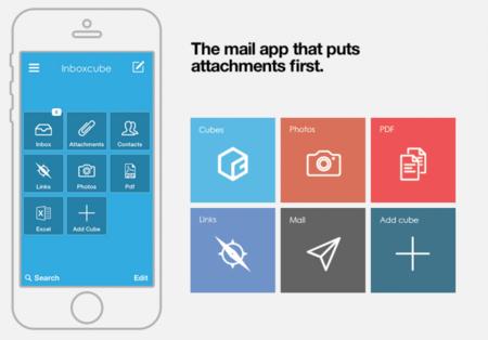 """Inboxcube, una aplicación que te organiza el correo a base de """"cubos"""""""