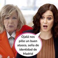 Isabel Díaz Ayuso se sube a 'La Campos Móvil': Sabemos el día que María Teresa arranca su nuevo programa de entrevistas