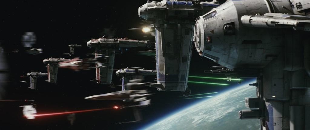 Ultimmos Jedi Batalla
