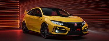 El Honda Civic Type R Limited Edition pierde hasta el aire acondicionado para ser lo más ligero posible