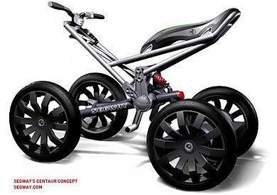 Segway Centauro, diseño rompedor de cuatro ruedas