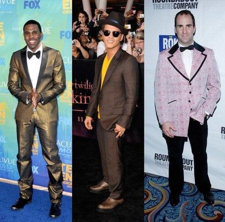 Los hombres peor vestidos de la alfombra roja del 2011
