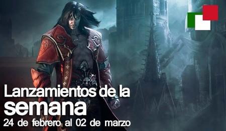 Lanzamientos de la semana en México del 24 de febrero al 02 de marzo