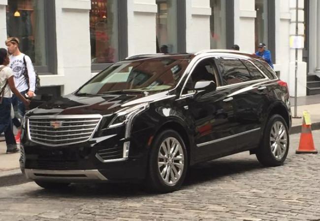 Cadillac Xt5 Espiada