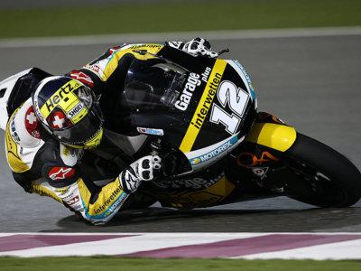Thomas Luthi gana una carrera de Moto2 que ni Luis Salom (segundo) podía creer