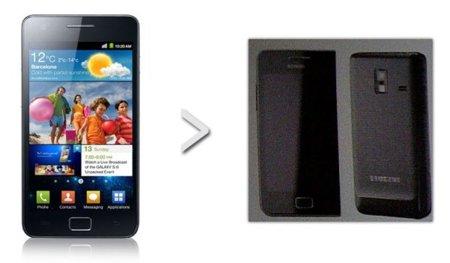 Una versión mini del Samsung Galaxy SII rumbo al Reino Unido