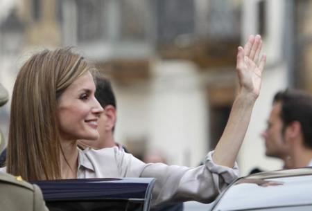 La reina Letizia vuelve a sus prendas de Princesa de Asturias