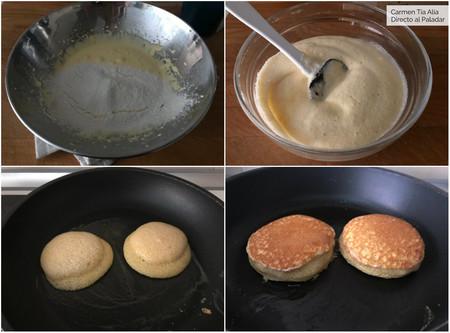 Paso A Paso Tortitas Souffle
