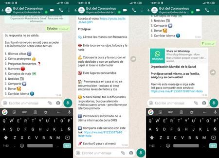 Bot Coronavirus Whatsapp