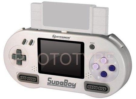 'SUPABOY Portable Pocket SNES Console'. El nombre lo dice todo