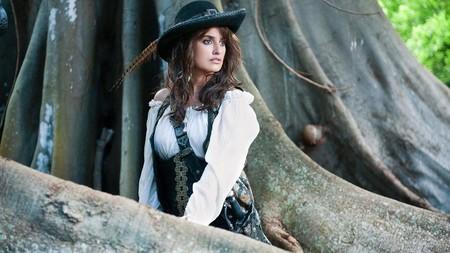 Penélope Cruz embarazada en Piratas del Caribe