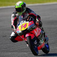 Tony Arbolino arrasa en Moto3: pole position, seis décimas de ventaja y récord del circuito de Mugello
