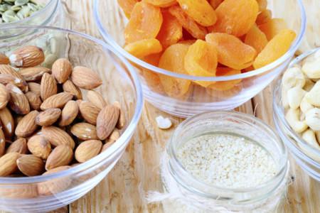 Siete opciones de snacks vegetarianos, ricos en proteínas
