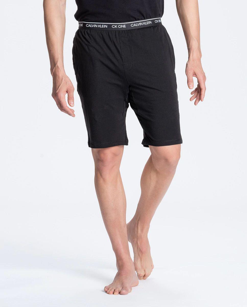 Pantalón corto de pijama en negro de Calvin Klein