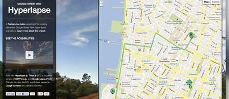 Google Street View Hyperlapse: la herramienta gratuita para crear timelapses con Street View