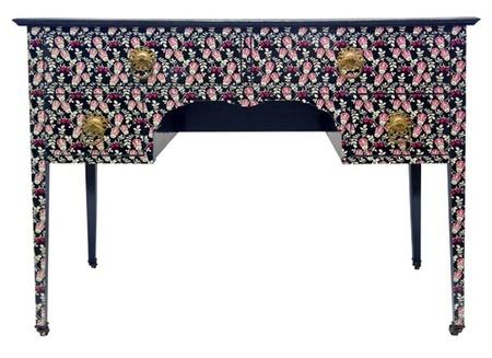 Muebles empapelados de Bryonie Porter
