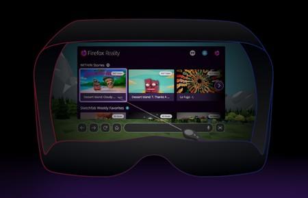 Firefox Reality es un navegador distinto y pensado específicamente para disfrutarlo en realidad virtual
