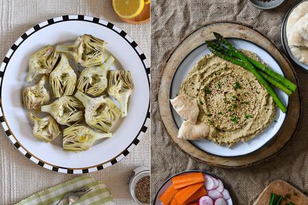 Cinco recetas vegetarianas rápidas para cocinar al microondas en el picoteo del finde