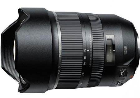 La muy interesante óptica estabilizada SP 15-30 mm f/2.8 de Tamron llega a la montura A de Sony