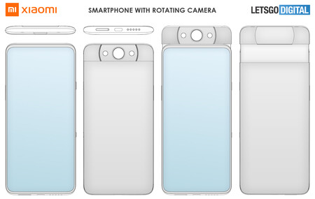 Xiaomi Smartphone Draaibare Pop Up Camera
