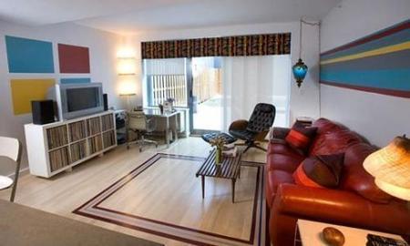 El apartamento de Benjamen después de la reforma.