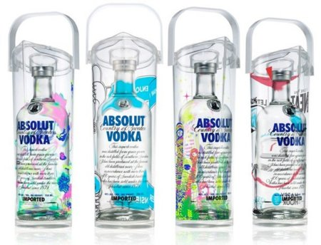 Absolut en una jarra para cócteles: The Art Of Sharing