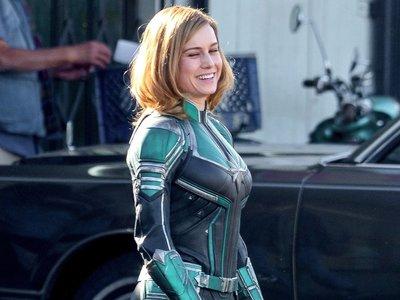 ¡Así es la Capitana Marvel! Primeras y sorprendentes fotos de Brie Larson como la superheroína