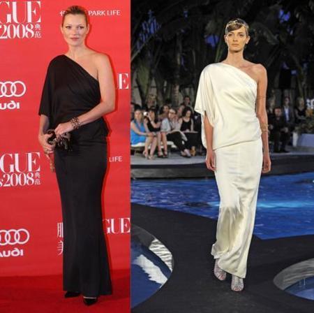 Clon del vestido Chanel Resort 2009 de Kate Moss, en Zara