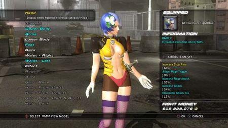 Tekken 6 - Editor de personajes