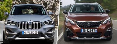 """Peugeot 3008 Versus.  BMW X1: vi Conviene """"Fluir"""" ¿Un SUV premium?"""