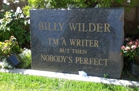 La tumba de Billy Wilder
