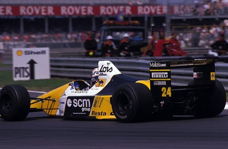 Perez Sala Silverstone F1 1986