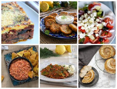 Las 25 mejores recetas de la cocina griega